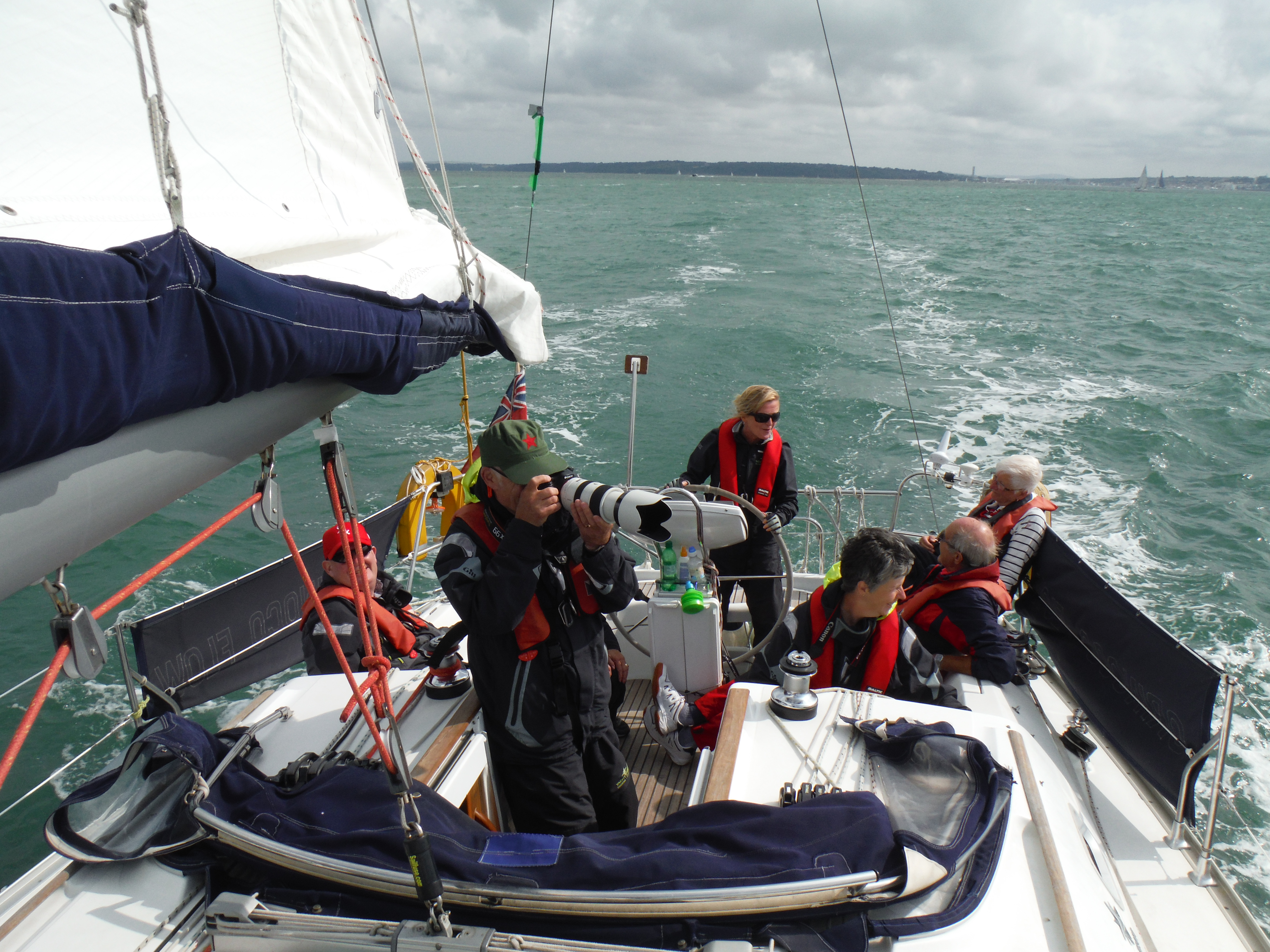 Cowes Week Spectator Day