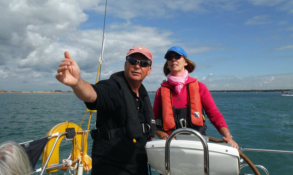 Solent Skippered Yacht Charter - Sailing Breaks, Holidays