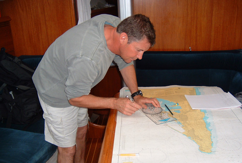 Private Yacht Tuition & Coaching with Yachtforce Skipper - Buster Nixon