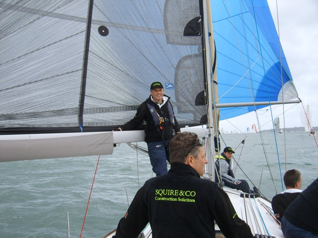 Solent Company Yacht Racing with yachtforce