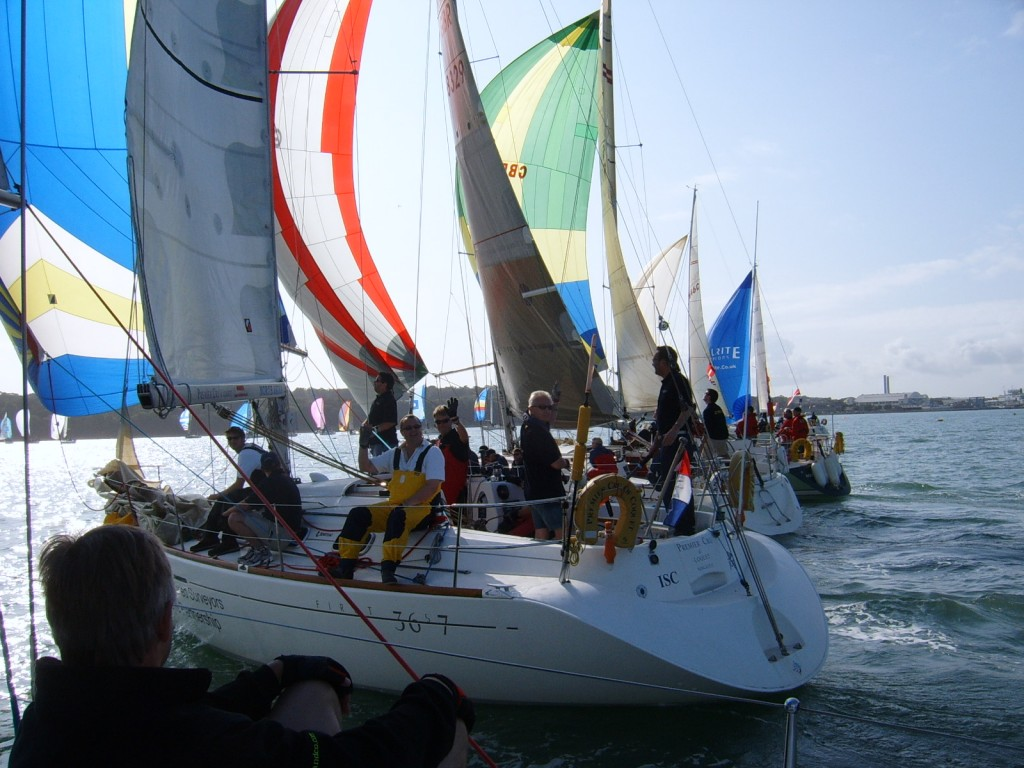Round the Island Race Yacht Charter