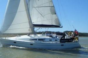 Jeanneau 37 charter Hamble