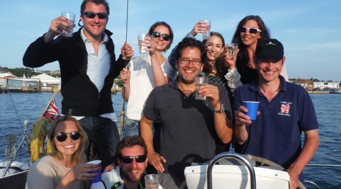 Round the Island Yacht Race 2014