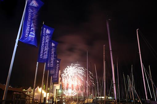 Cowes Week Fireworks1
