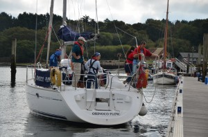 Yacht Mooring Practice at Beaulieu