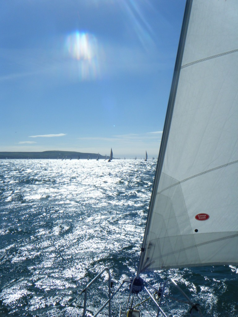 Sailing Around the Isle of Wight