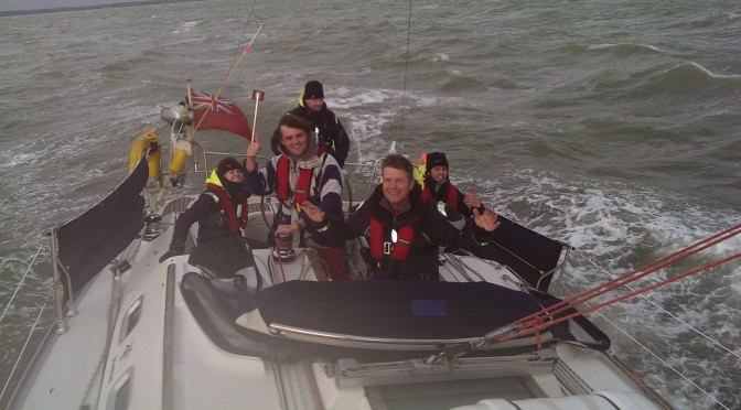Winter Yacht Sailing