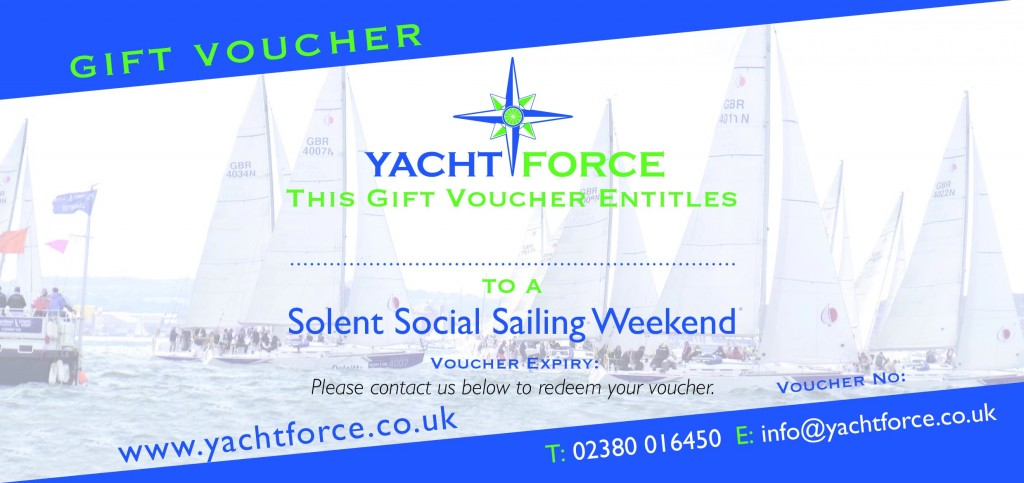 Yacht Sailing Experience Gift Voucher - Yachtforce.co.uk