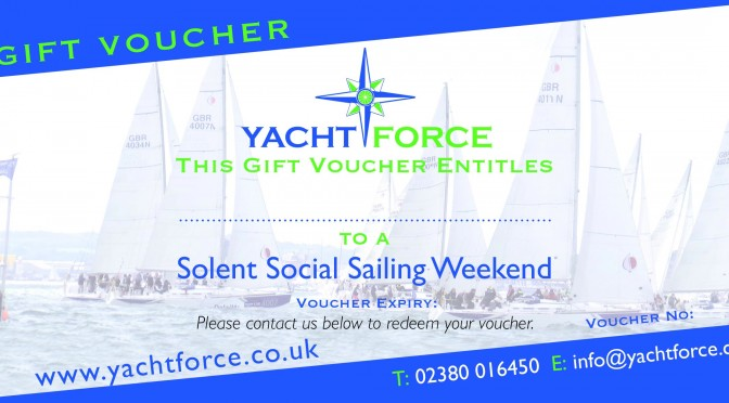 Sailing Event Gift Vouchers – Christmas or Birthday
