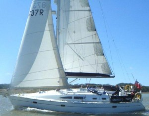 Jeanneau 37 for Skippered & Bare-boat Solent Charter