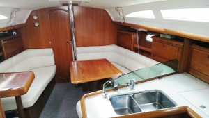 Charter this 37ft Jeanneau yacht with Skipper
