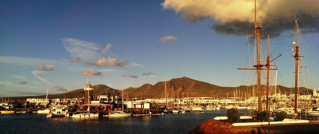 Yacht Sailing in Marina Rubicon Lanzarote