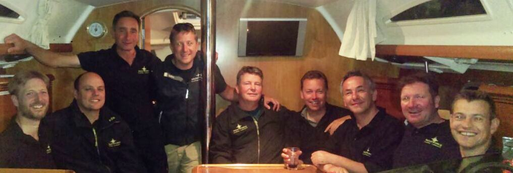Paul Outram, Buster Nixon & Yachtforce Team