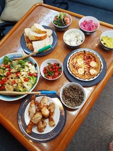 Solent Sailing Weekend lunch time snack