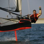 Paul Outram Yachtforce Director - Foiling dinghy