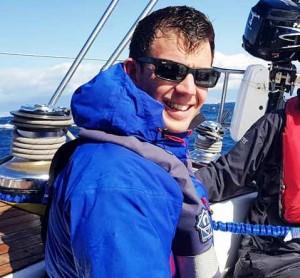 Dan Harrison on Yachtforce Canaries Cruise
