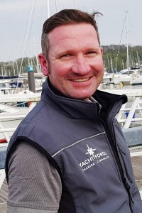 Christian Price Yachtforce first Mate