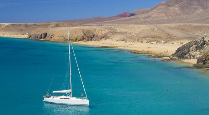 Canaries Sailing Holiday Cruise Around Lanzarote Jan 2020