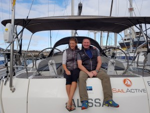Regular first Mates Vikki & Chris