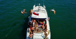 Motor Boat Hire for Stag & Hen Parties