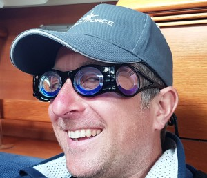 Paul - Modelling Anti Sea Sickness Glasses!