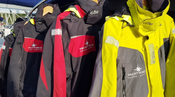Gill Yachting Wet Weather Gear For Hire