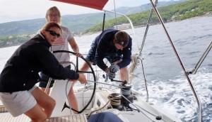 Yachtforce Big Boat Sailing in Croatia