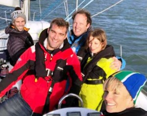 James Wood on Yachtforce Sailing Day
