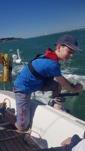 Children welcome at Yachtforce Charter